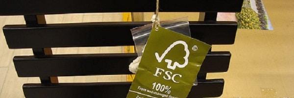 Seja consciente: Dê preferência a produtos com o selo FSC
